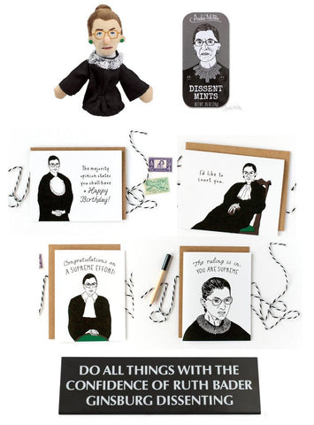 The Ultimate Ruth Bader Gift Pack