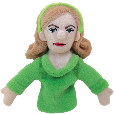Sylvia Plath Refrigerator Magnet and Finger Puppet