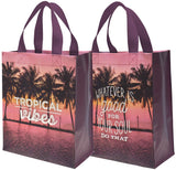 Tropical Vibes / Whatever Is Good For Your Soul Do That Tote Bag