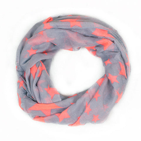 Optimist Star Infinity Scarf