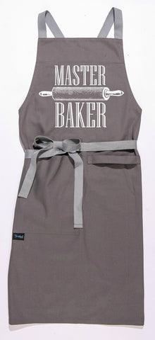 Master Baker Apron in Grey