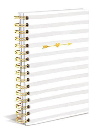 Stripes and Arrows in Spiral Hard Bound Journal
