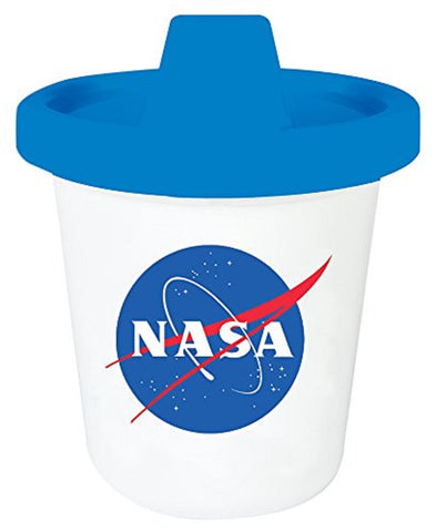 NASA Astronaut Sippy Cup in Blue and White