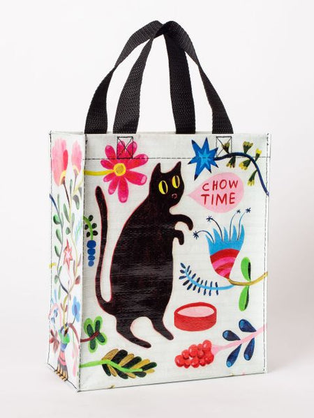 Chow Time Handy Tote with Black Cat