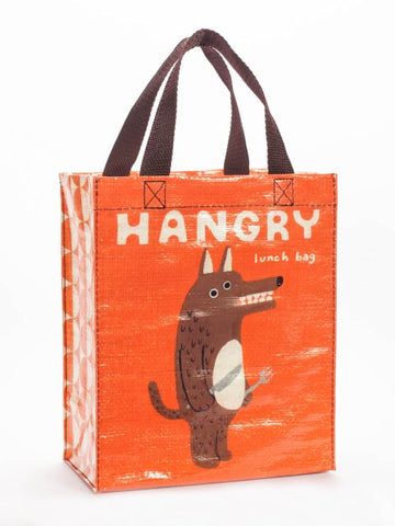 Hangry Handy Tote Bag in Orange