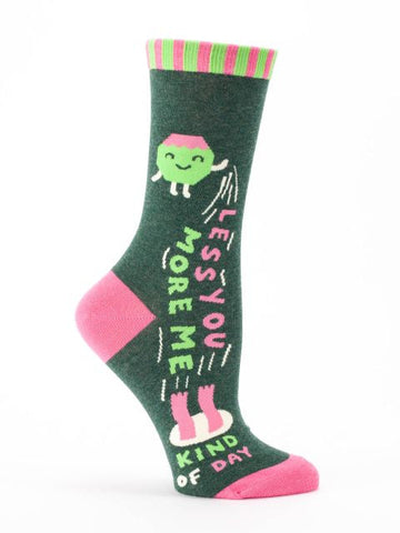 Less You More Me Women's Socks