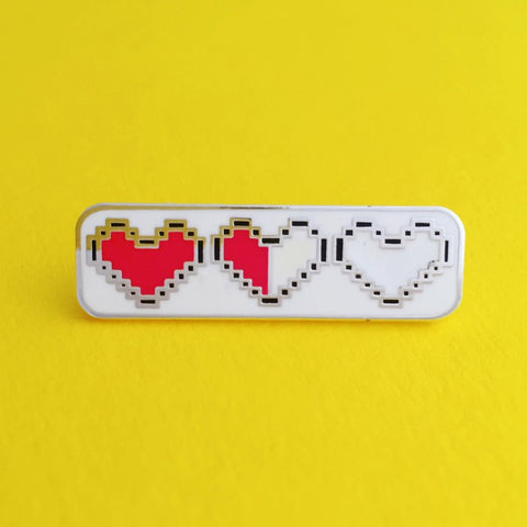 Heart Container - Legend of Zelda Enamel Pin