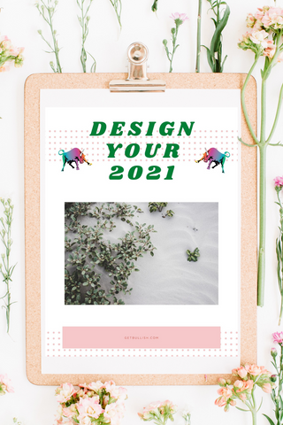 Design Your 2021 Downloadable Workbook (PDF Instant Download)