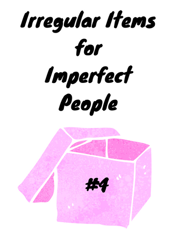 Irregular Items for Imperfect People Pack #4 (1 only)