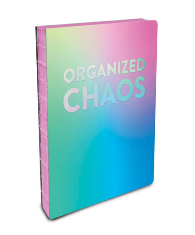 Organized Chaos Coptic-Bound Journal in Pastel Colors