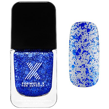 Xplosives Top Coats Formula X for Sephora - Cobalt Confetti