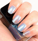 Formula X for Sephora Effects Nail Color Polish in Moon Glow - Pale Blue Buildable Shimmer