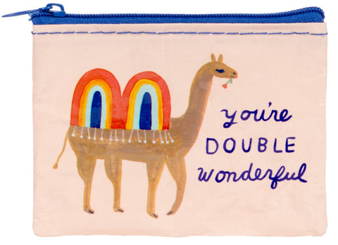 You're Double Wonderful Camel Coin Purse