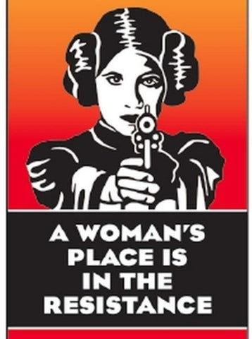 A Woman's Place Is In The Resistance Magnet