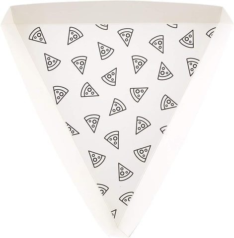 Pizza Slice Paper Party Plates | Set of 8