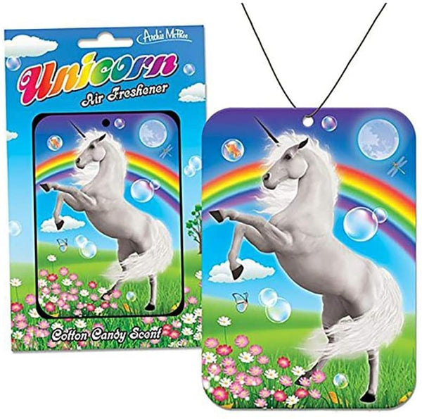 Unicorn Air Freshener in Cotton Candy Scent