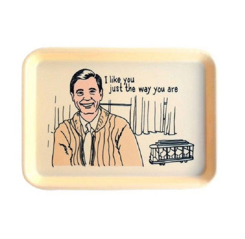 I Like You Just The Way You Are Fred Rogers Trinket Tray