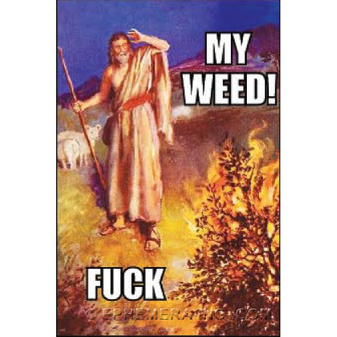 "My Weed! Fuck Magnet | 2"" x 3"" 