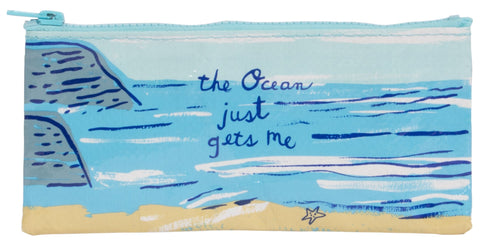 The Ocean Gets Me Pencil Case