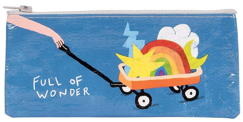 Full of Wonder Pencil Case in Wheelbarrow of Star, Rainbow and Moon