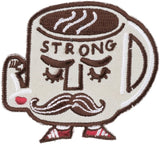 Coffee Strong Mondays Short Patch