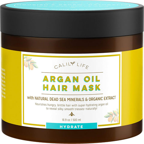 Calily Life Argan Oil Hydrating Hair Mask with Dead Sea Minerals
