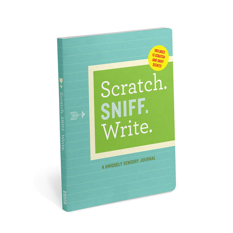 Scratch. Sniff. Write. A Uniquely Sensory Journal
