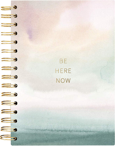 Be Here Now Hard Cover Spiral Journal