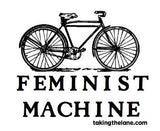"Feminist Machine Illustrated Sticker | 3"" x 3.6"""