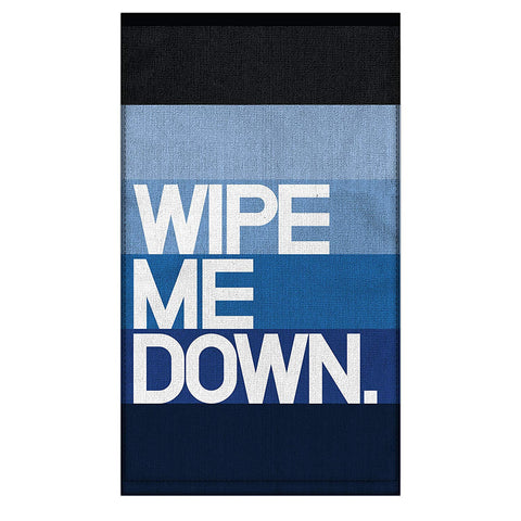 "Wipe Me Down Multi-Use ""Dirty"" Towel in Blue Ombre"