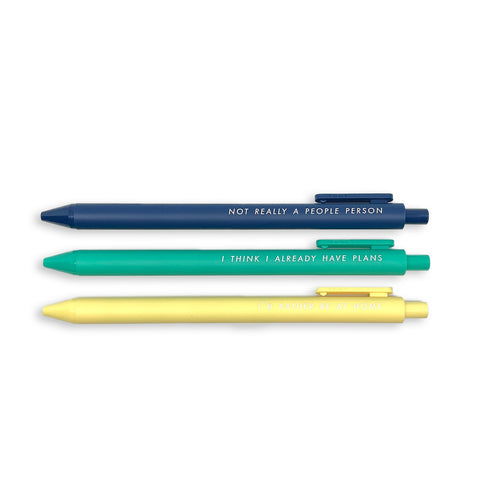 Pens for Introverts Clic Pens