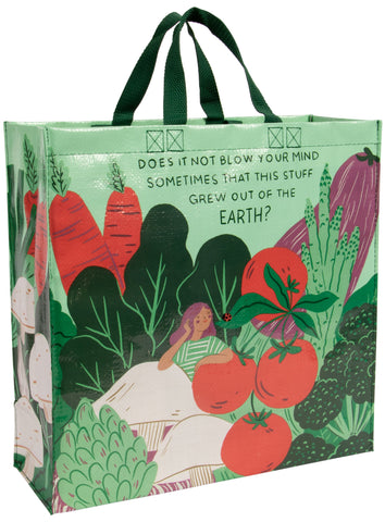 Grew Out of the Earth Shopper Bag