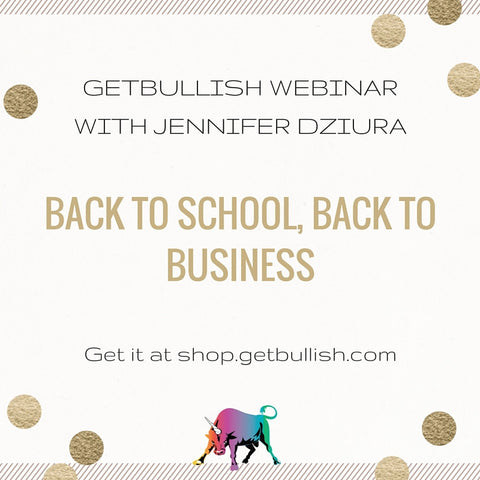 Webinar: Back to School, Back to Business