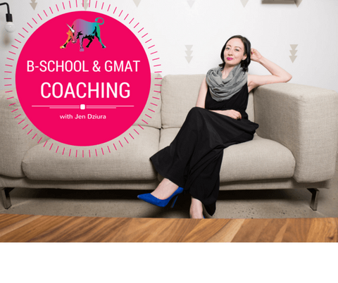 Business School + GMAT/GRE Coaching with Jen Dziura