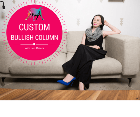 Custom Bullish Column - Your Question Answered by Jen Dziura