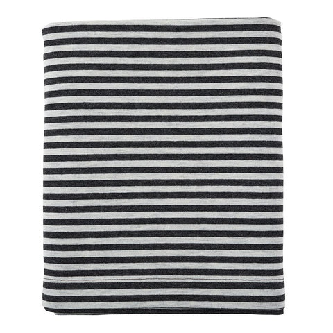 Black And Grey Striped Nursing Scarf | Breastfeeding Cover Doubles as an Infinity Scarf