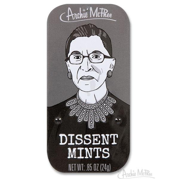 Ruth Bader Ginsburg Dissent Mints