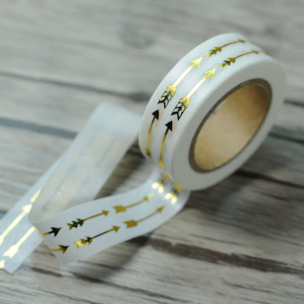 Gold Double Arrow Washi Tape