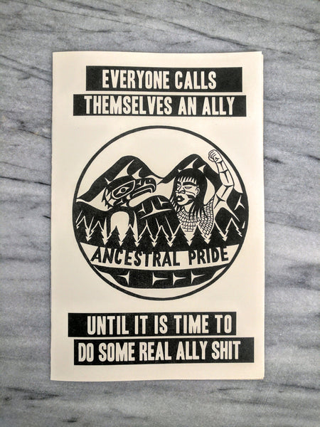Everyone Calls Themselves An Ally Until It Is Time To Do Some Real Ally Sh*t
