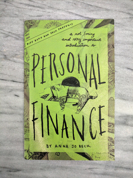 Personal Finance Zine: A Not Boring and Very Important Introduction