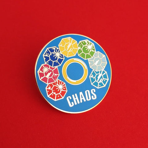 Chaos Emeralds Enamel Pin