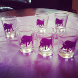 Bullicorn Shotglass - Set of 6