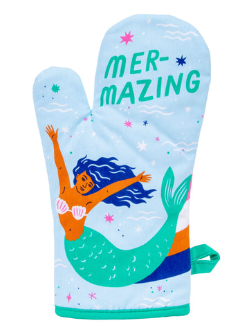 Mer-Mazing Oven Mitt with Mermaid Design