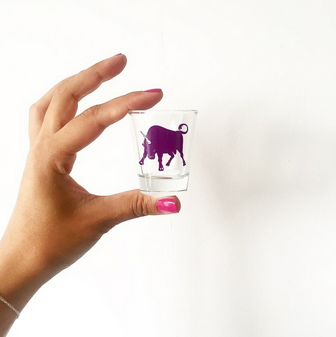 Bullicorn Shotglass | GetBullish Original Mini Bull-Unicorn Glass