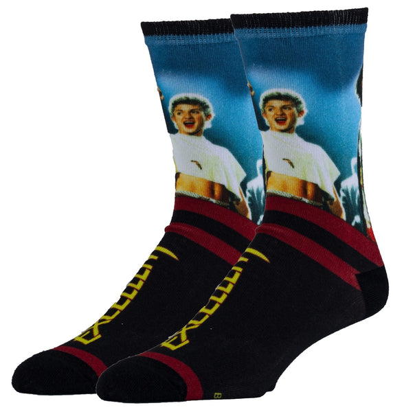 Excellent Bill and Ted Men's Crew Socks