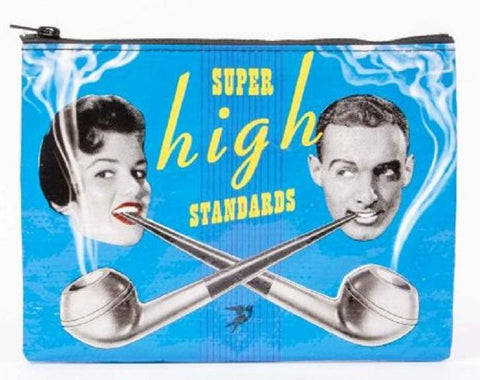 Super High Standards Recycled Material Cute/Cool/Unique Zipper Pouch/Bag/Clutch/Cosmetic Bag