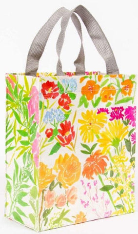 Last Call! Flower Garden Handy Tote in Recycled Material