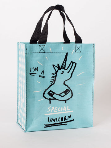 I'm A Special Unicorn Handy Tote Bag in Recycled Material