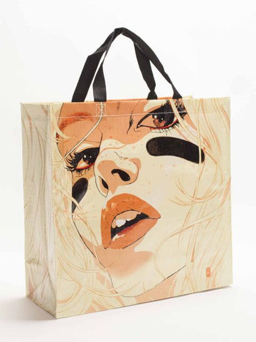 Graphic Novel Shopper Bag in Recycled Material