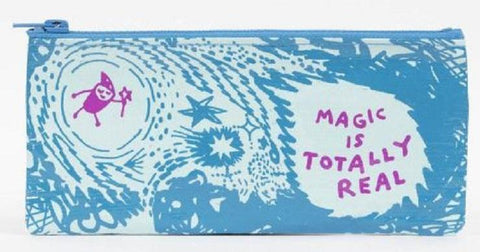 Magic Is Totally Real Pencil Case in Recycled Material